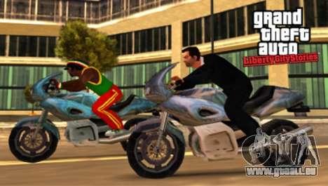 Communiqués de presse pour la PS2: GTA LCS, en Amérique du Nord