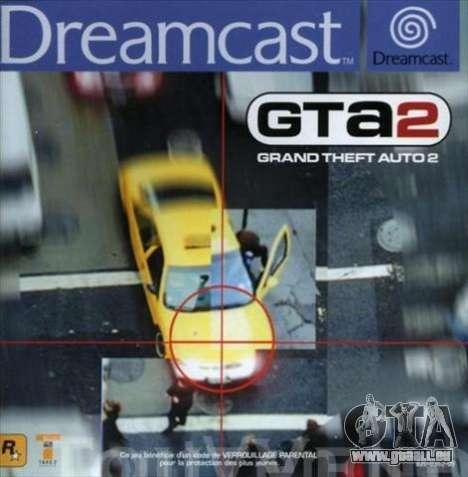 GTA 2 pour Dreamcast en Europe: le début du 21e siècle