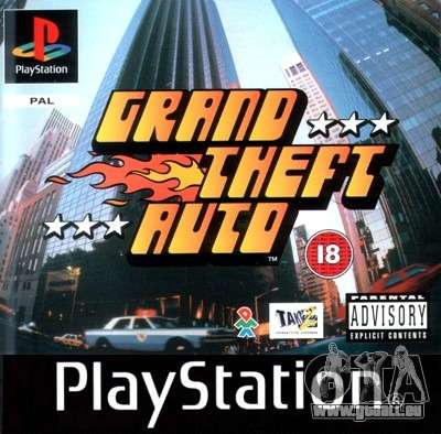 Releases der 90er: GTA 1 PS in Japan