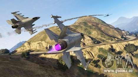 la Mission de GTA Online: ciel de guerre
