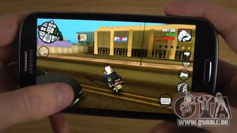 GTA San Andreas sur le téléphone
