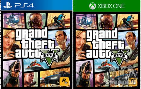 GTA 5 est disponible sur PS 4 et la Xbox One
