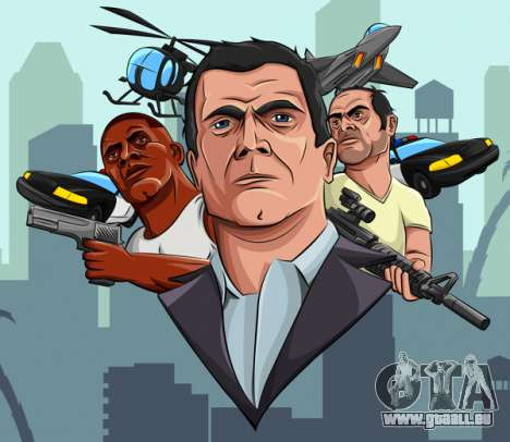 Fan Art GTA 5: Silvester-Update