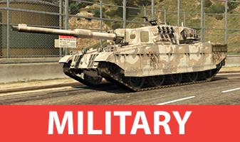 Militarische Fahrzeuge aus GTA 5