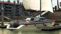 Dinka Marquis aus GTA 5 - Ansicht von Hinten