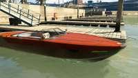 Pegassi Speeder von GTA 5 - vorderansicht