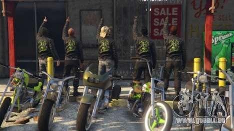 Team-Brett GTA: Empfang Rekruten