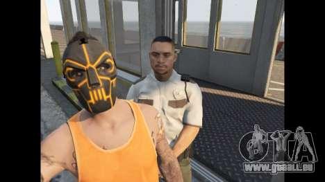 Jeu de joueurs dans le PC de commande de GTA
