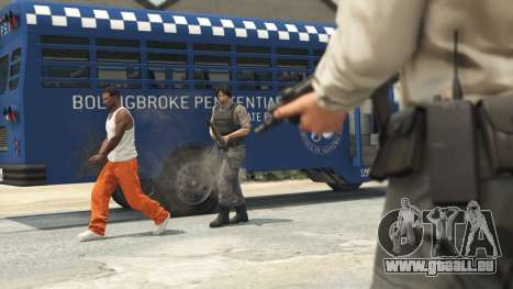 Prison Break heist à GTA Online