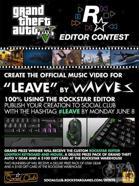 der Wettbewerb der Rockstar-Editor: Clip für Wavves