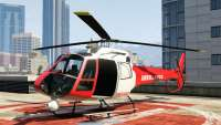 Buckingham Police Maverick (emergency) von GTA 5 - vorderansicht