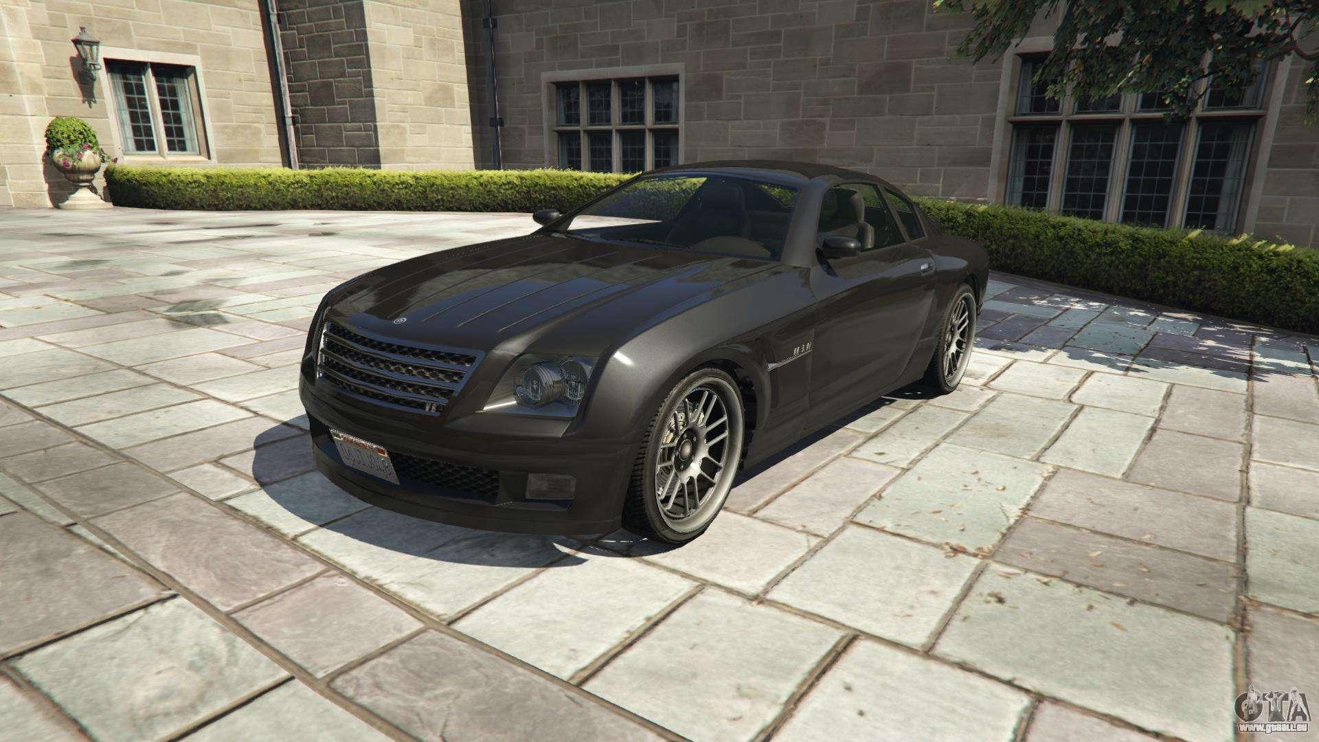 Shyster Fusilade der GTA 5 - Frontansicht