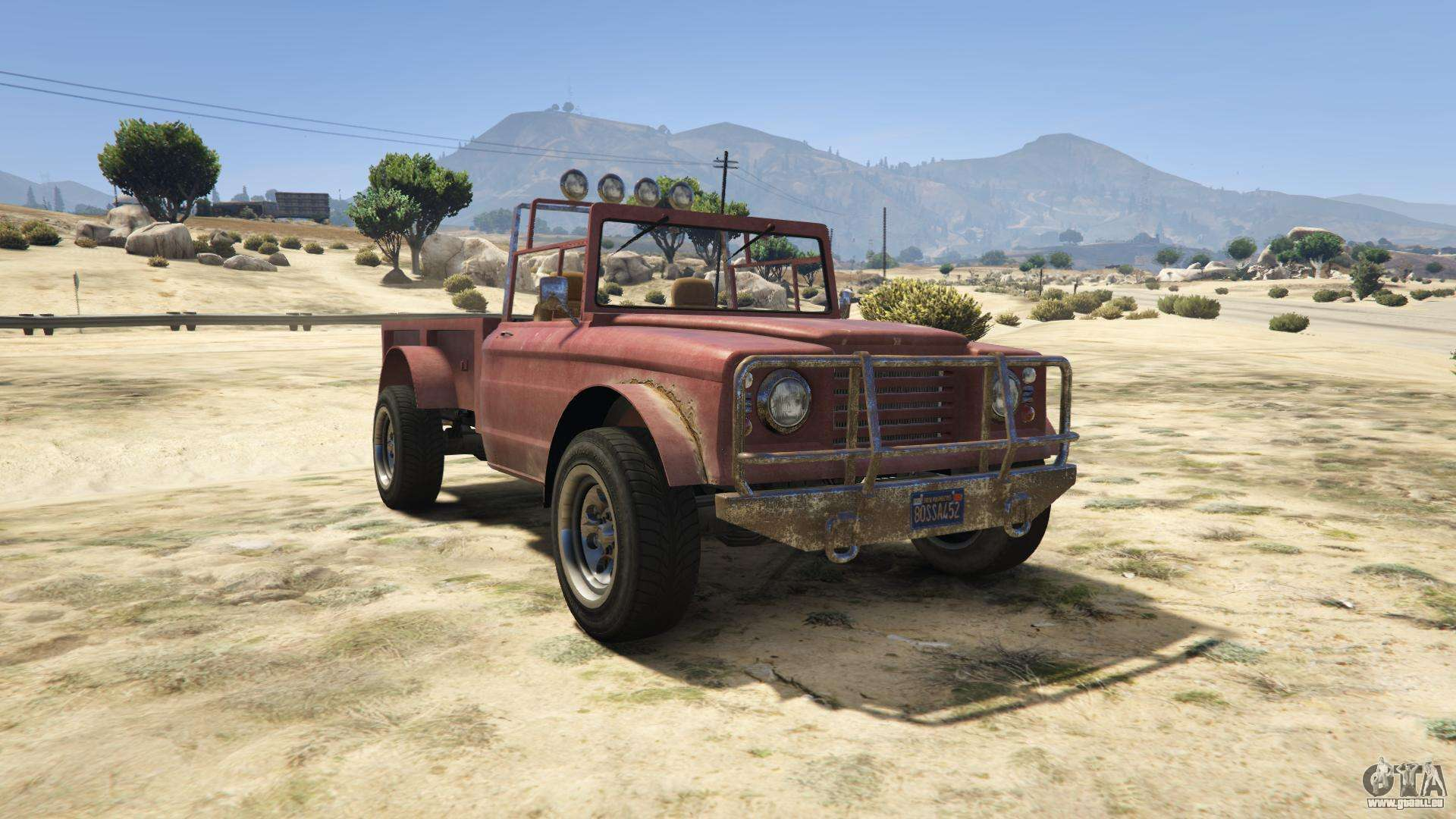 GTA 5 Canis Bodhi - Frontansicht