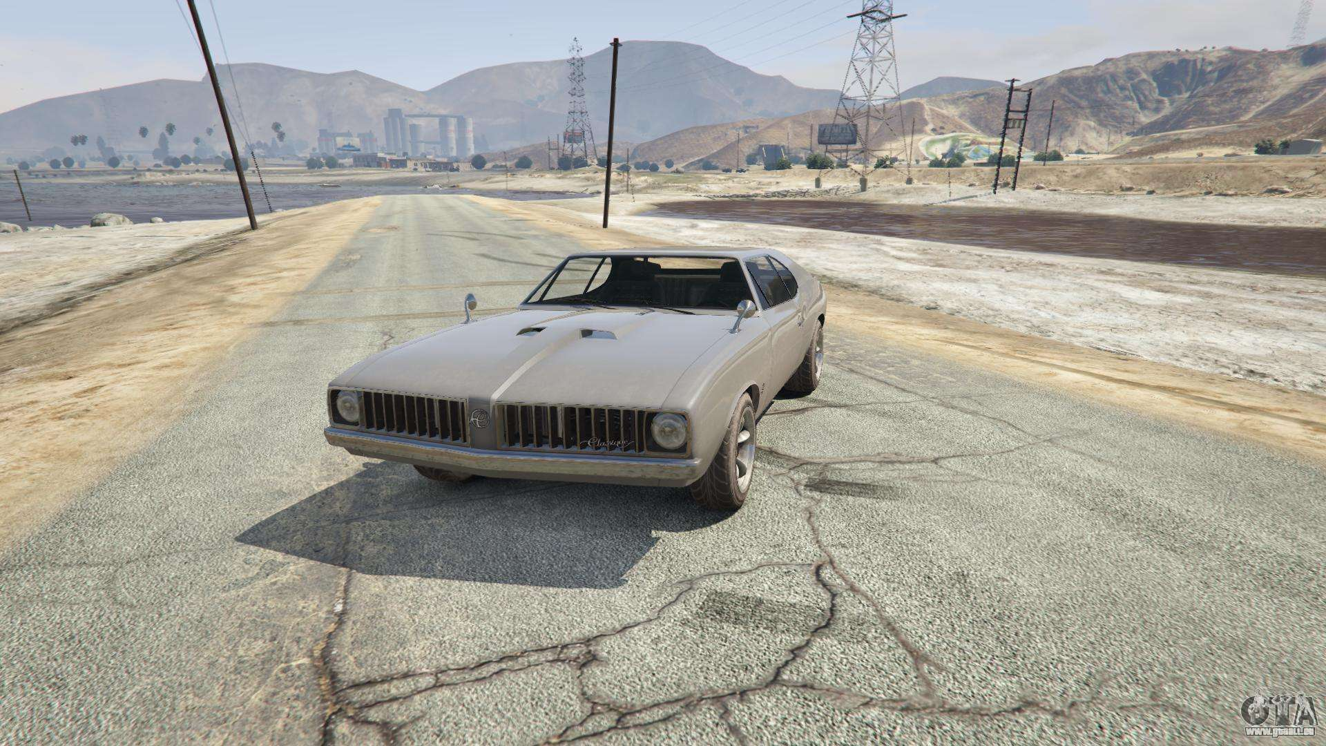 Stallion de GTA 5 - vue de face