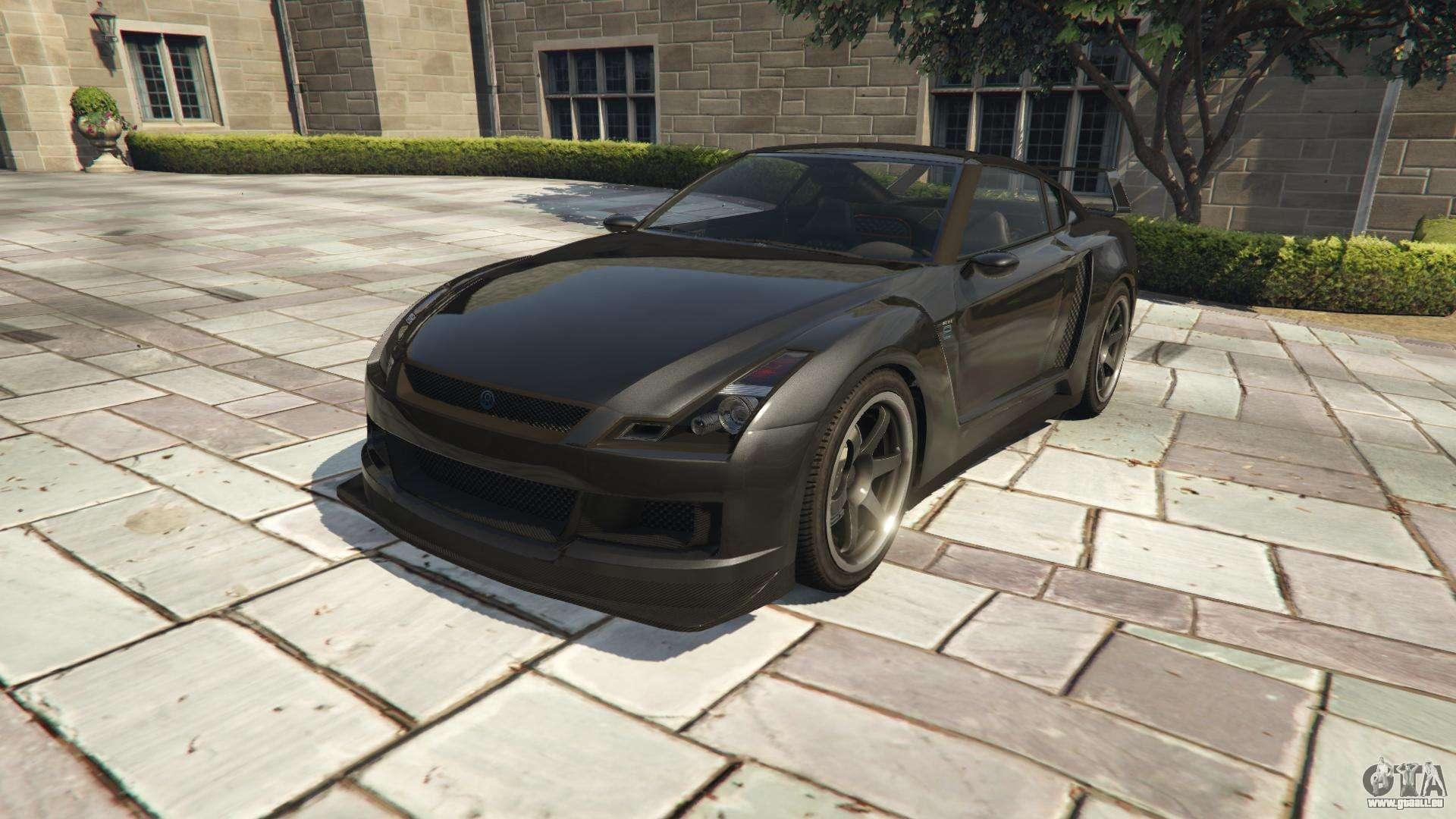 Annis Elegy RH 8 von GTA 5 - Frontansicht