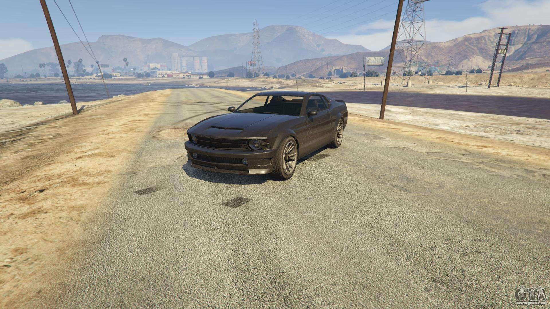 Dominator GTA 5 - Frontansicht