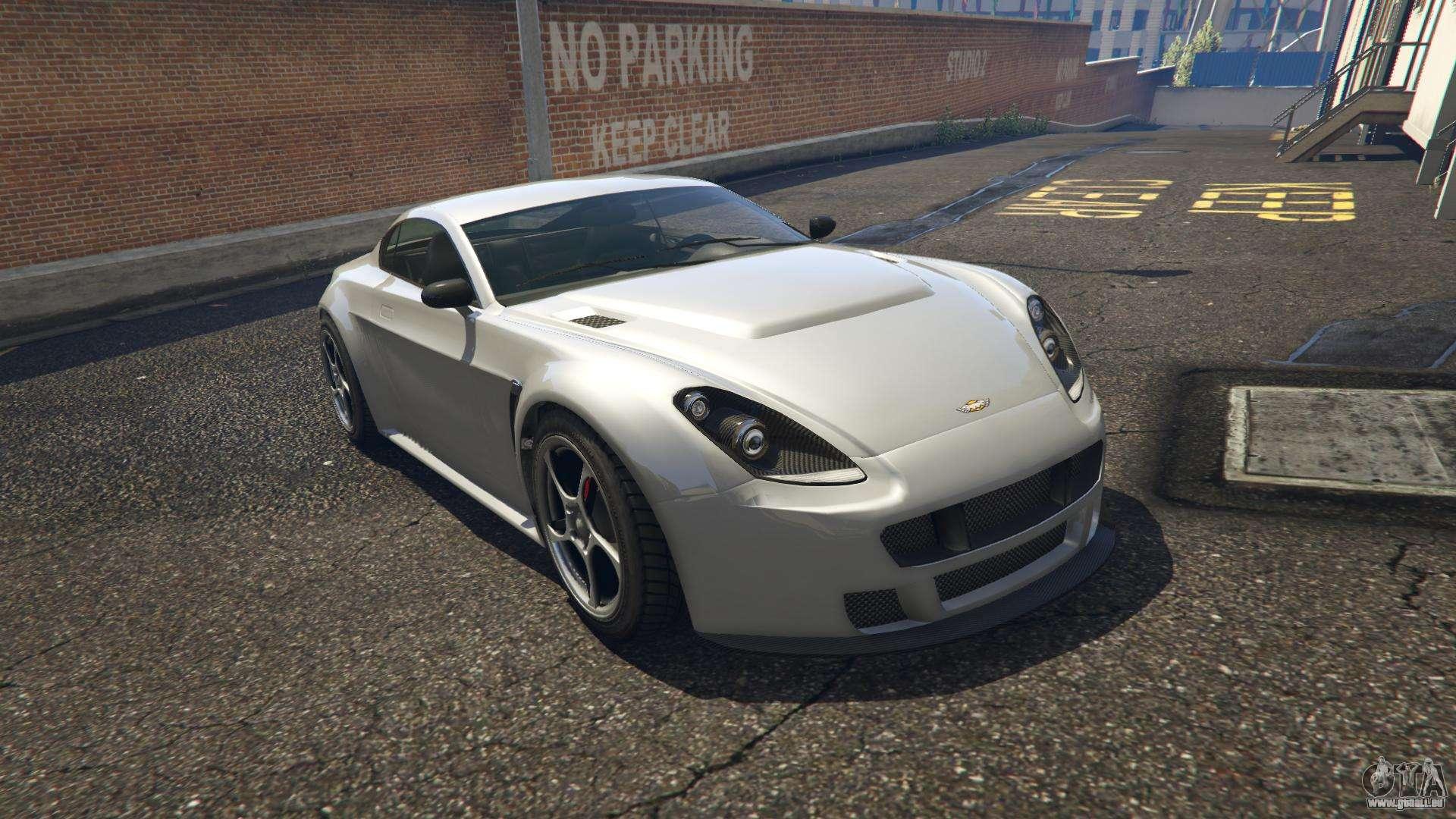 Dewbauchee Rapid GT GTA 5 - Frontansicht