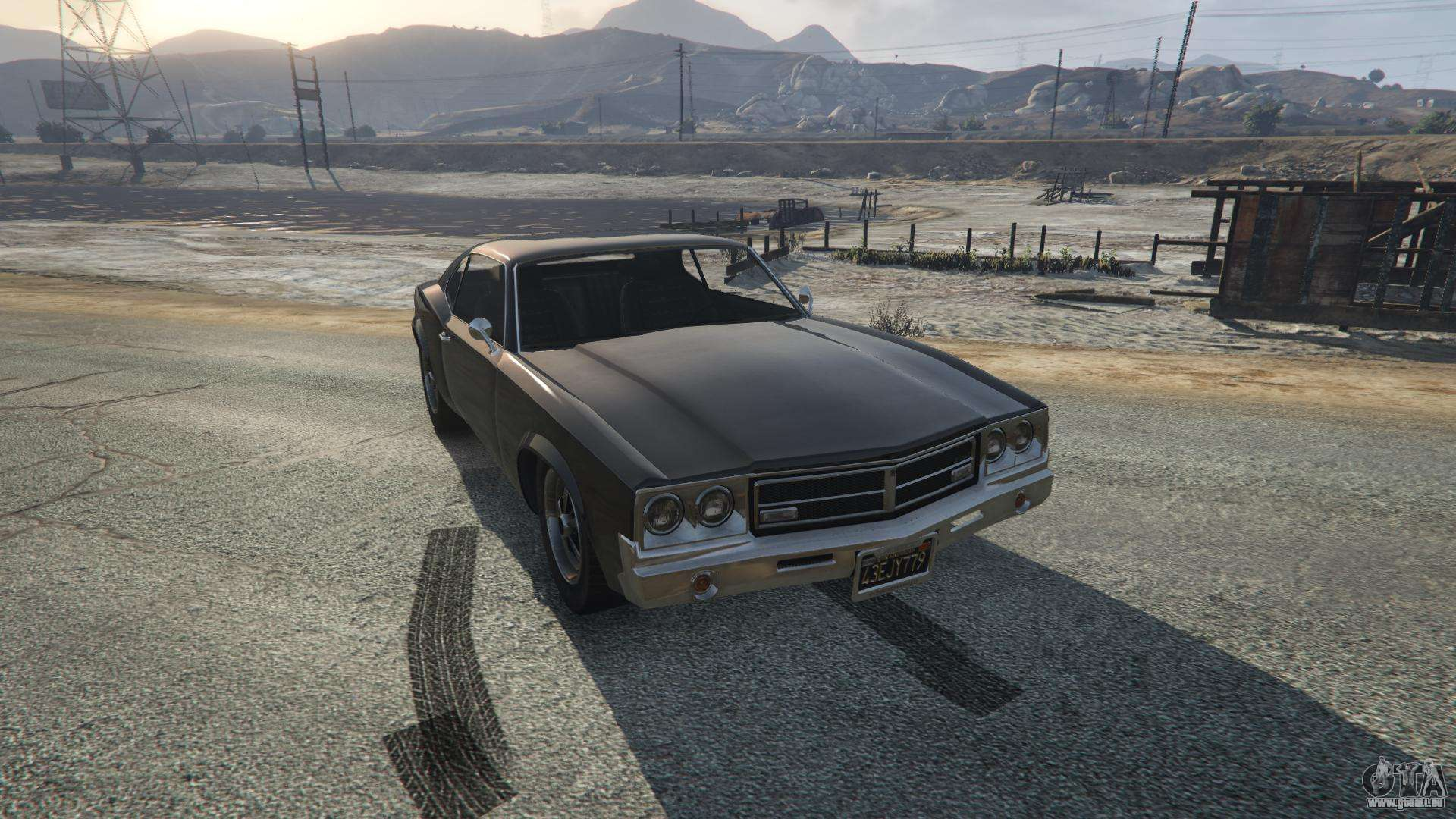 Sabre Turbo de GTA 5 - vue de face