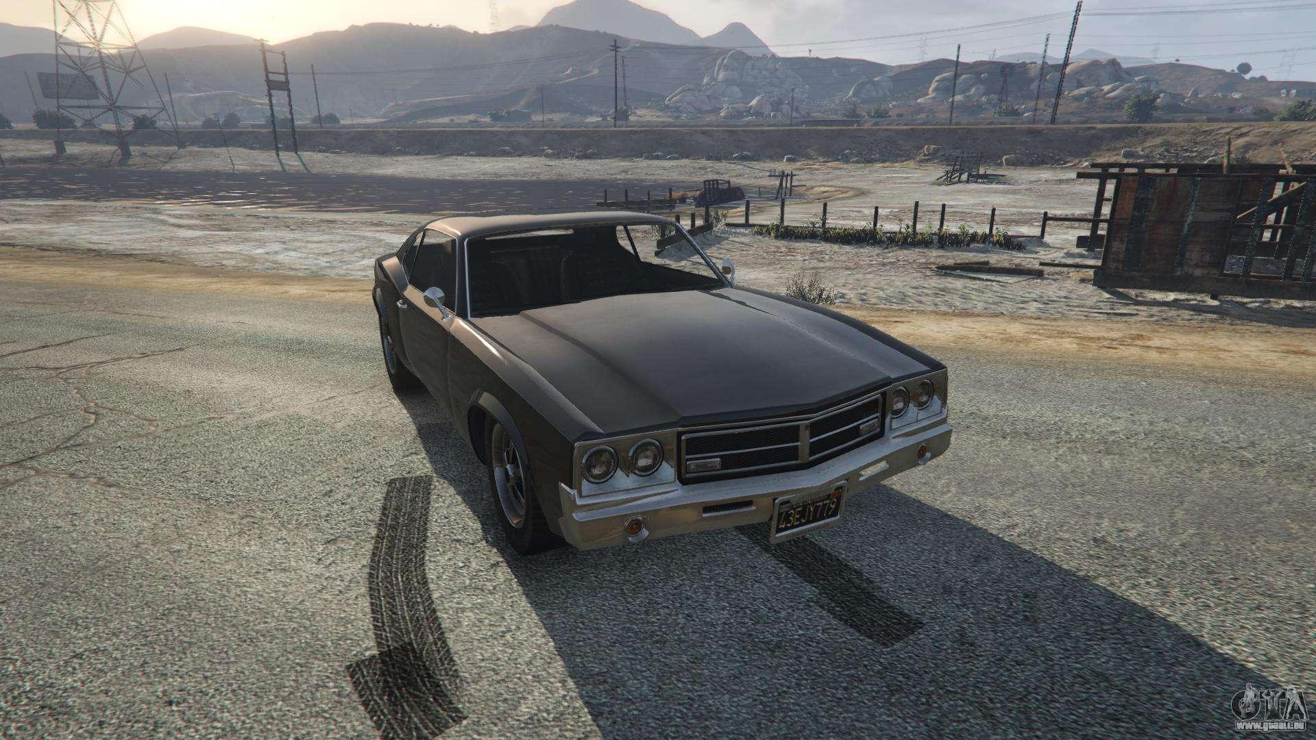 Sabre Turbo von GTA 5 - Frontansicht