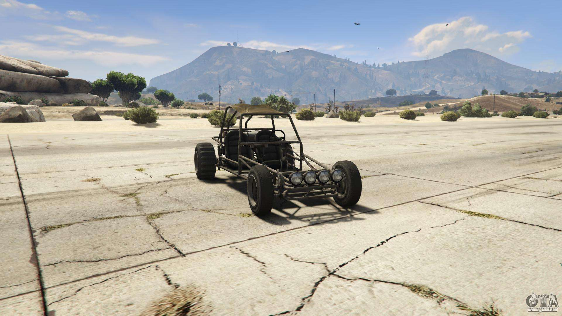 GTA 5 BF Dune Buggy - Frontansicht