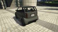 Benefactor Panto GTA 5 - seitenansicht