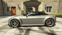 Dewbauchee Rapid GT Cabrio aus dem GTA 5 - seitenansicht