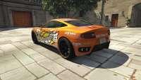 Dewbauchee Massacro Racecar aus GTA 5 - Rückansicht
