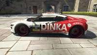 Dinka Jester Racecar aus GTA 5 - seitenansicht