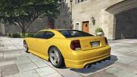 La bravade de Buffalo GTA 5 - vue de l'arrière