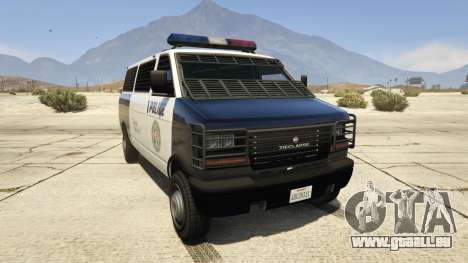 Declasse Police Transporter