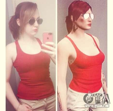 selfie GTA en Ligne