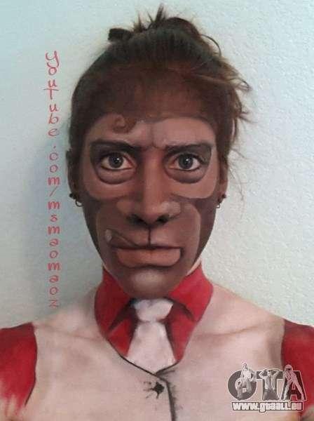 Affen-Maske von MaoMaoz