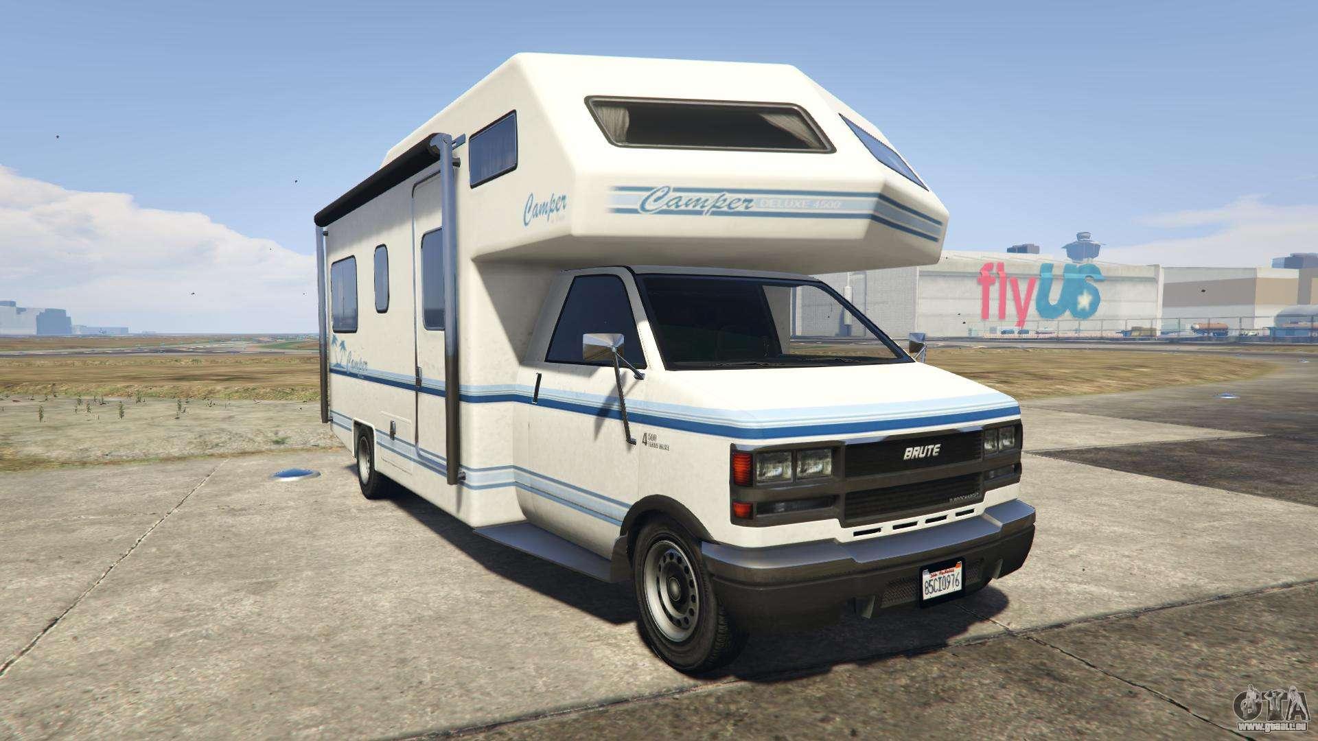 GTA 5 Brute Camper - Frontansicht