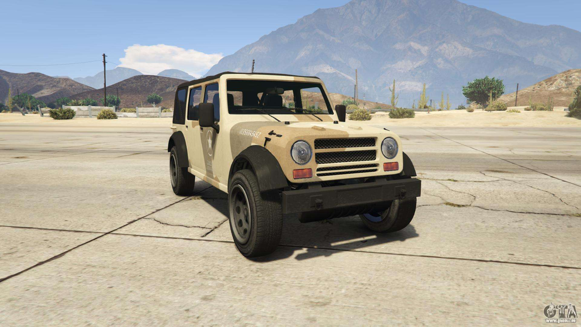 GTA 5 Canis Crusader - Frontansicht