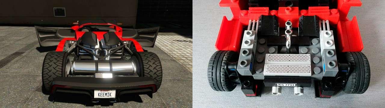 Lego Grotti Turismo R - moteur