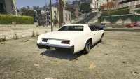 Albany Virgo de GTA 5 - vue de l'arrière