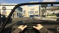 Invetero Coquette BlackFin de GTA 5: la vue depuis le cockpit