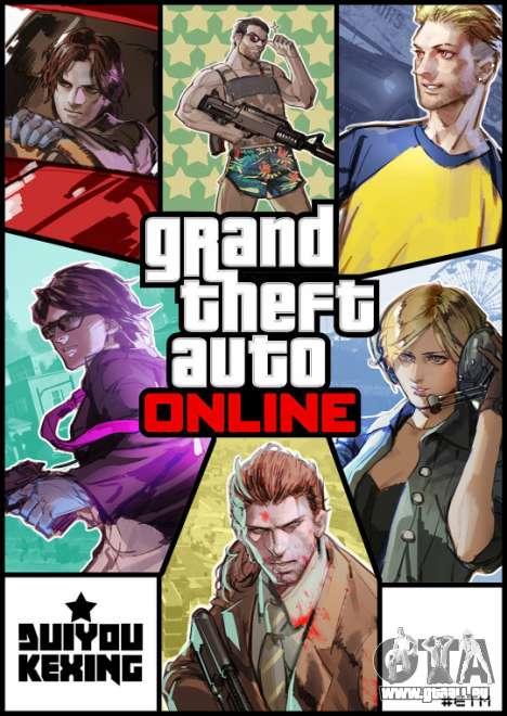 GTA Online Caractères