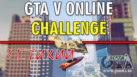GTA 5 Herausforderung - 3 ELEMENTE