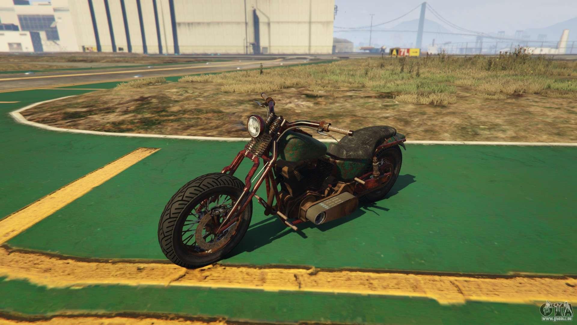 Neue Motorrad Western Rat Bike von GTA Online