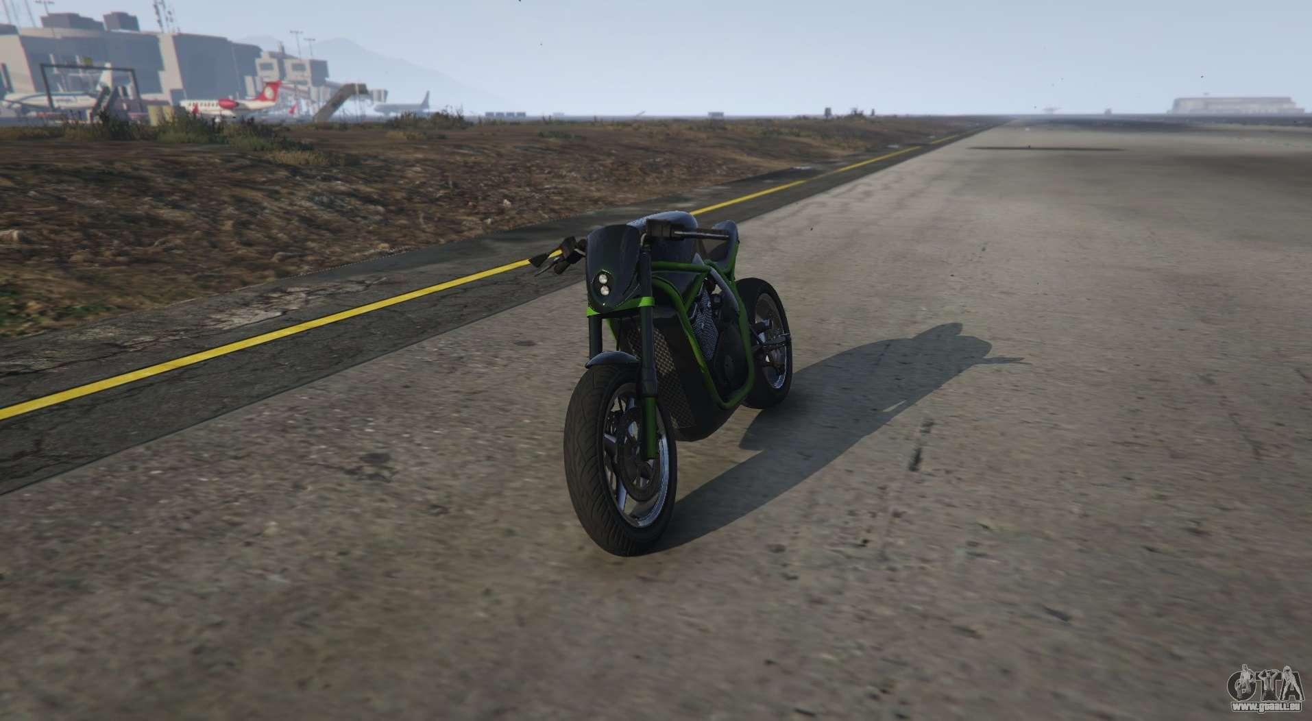 Ungewöhnliche Motorrad von GTA 5 Shitzu Defiler