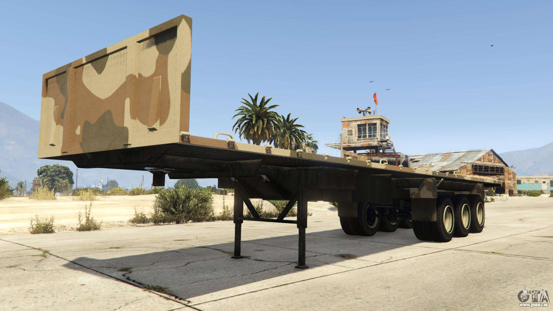 Army Trailer de GTA V