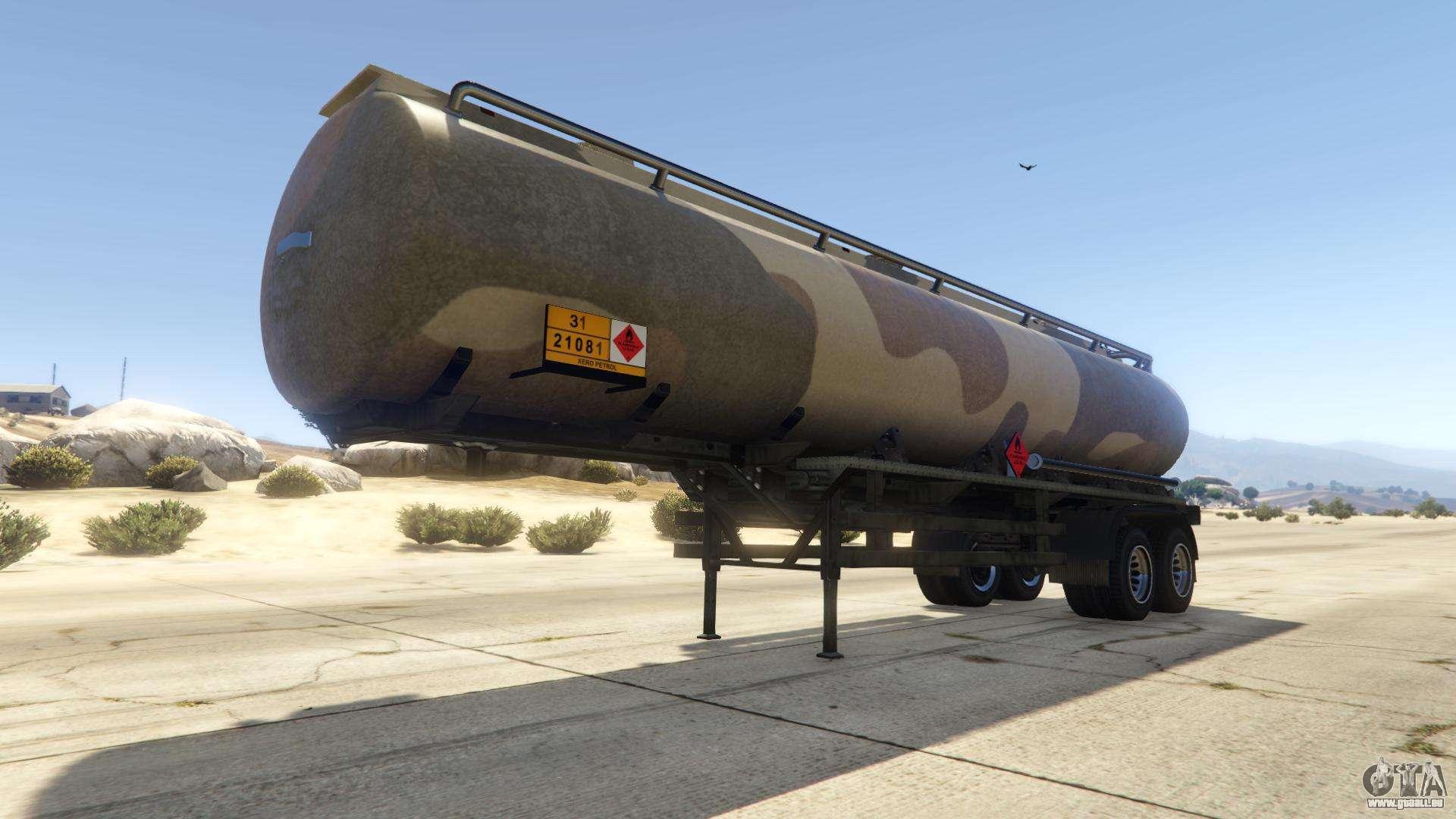 Army Tanker de GTA Online