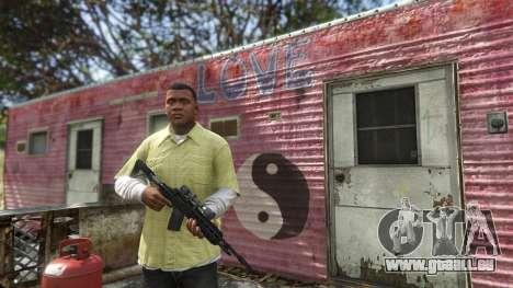 GTA 5 Online armes