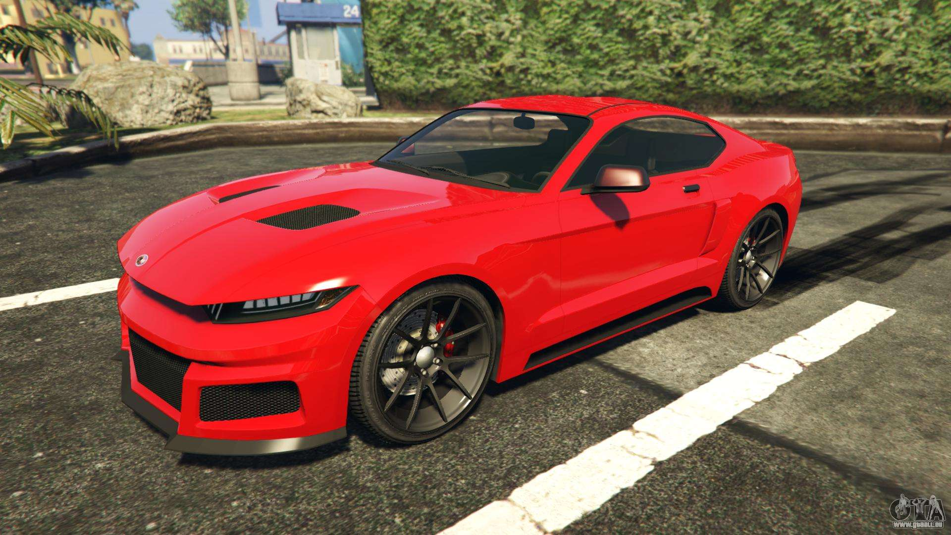 Vapid Dominator GTA 5 GTX