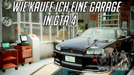 Die garage in GTA 4