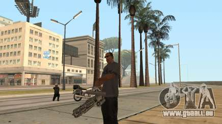 Um die minigun in GTA San Andreas