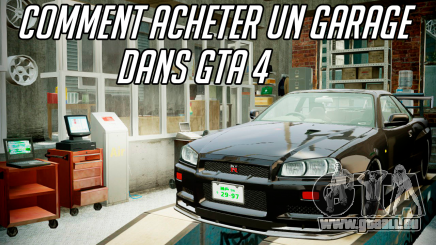 acheter un garage dans gta 4 est il possible. Black Bedroom Furniture Sets. Home Design Ideas