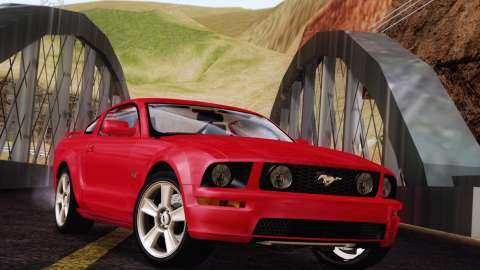 Exclusif: la Ford Mustang GT 2005