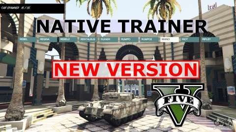 NATIVE TRAINER pour GTA 5